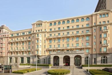 北京饭店莱佛士酒店厨房工程